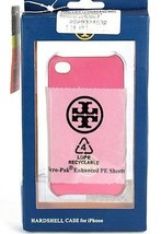 Tory Burch French Rose / Pink Hardshell Iphone 4/4S Moulded Case - $9.89