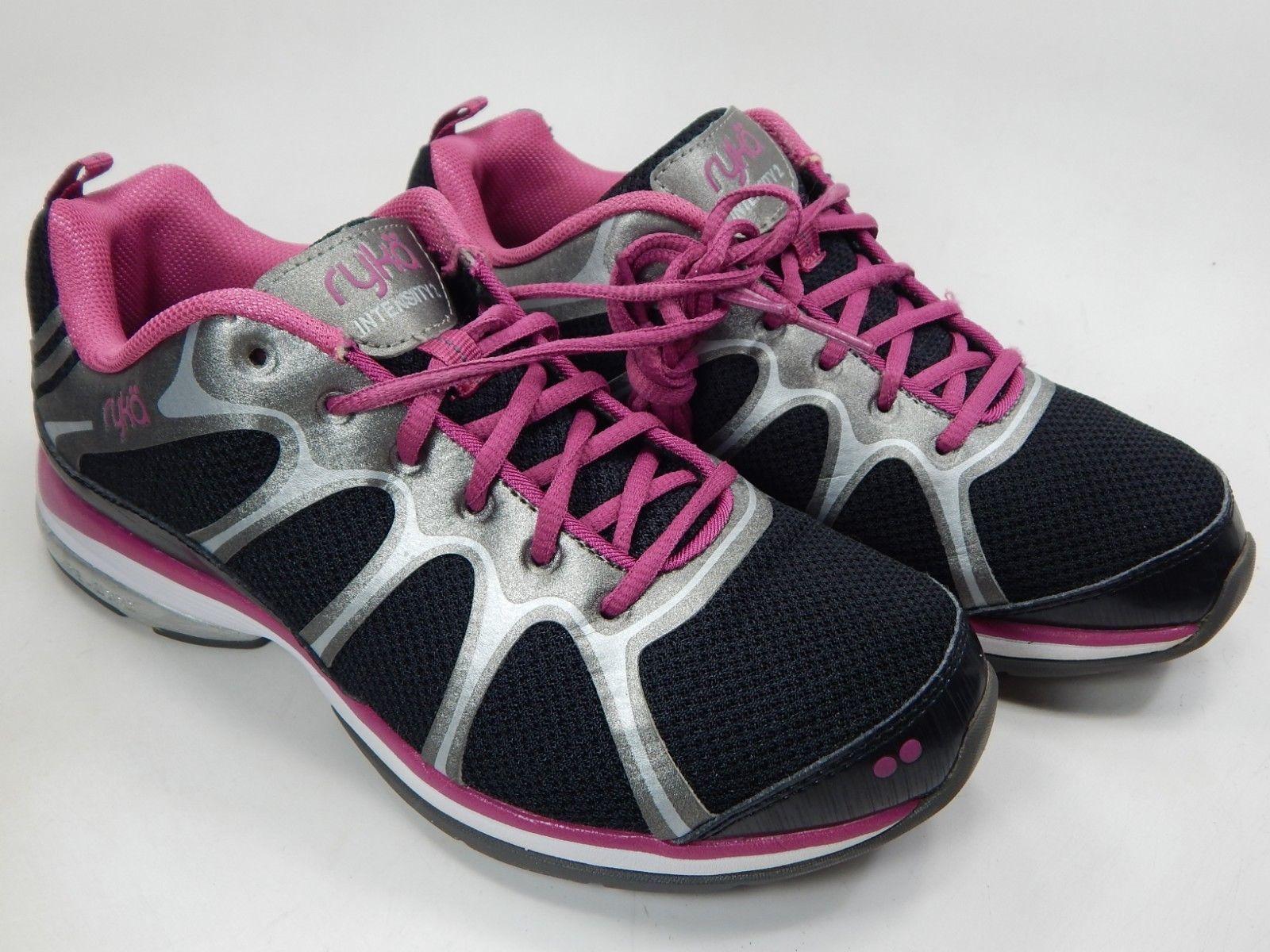 Ryka Intensity 2 US 8 M (B) EU 39 Women's Running Shoes Black Purple