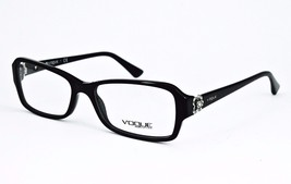 Vogue Eyeglasses VO 2836-B W44 Black Frame 53mm - 14 - $42.99