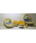 1930-40s Lusterware Made In Japan Cups and Saucers Plates Shakers - $29.99