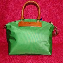 Dooney & Bourke Nylon Green Satchel Handbag NWT image 6