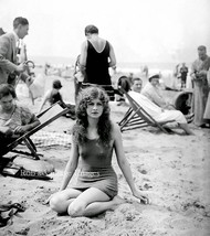 Flapper Women Girls Swimsuits Photo early 1925 Flappers Jazz Prohibition - $8.90