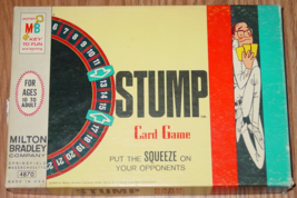 Stump Card Game 1968 Milton Bradley #4870 Made In Usa Complete 10 To Adult - $20.00