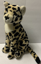 "Vintage Dakin Fun Farm 15"" Tall Firm Stuffed Plush Leopard Cheetah 1986 - $32.69"