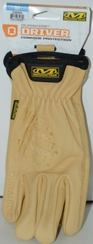 Mechanix Wear 2160251 Durahide Driver Cowhide Protection Medium Khaki 1 Pair