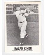 RALPH KINER 1977 TCMA #2 CHICAGO CUBS - $1.78