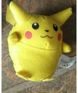 """Vintage 1999 Burger King Pokémon Plush  pikachu 3"""" - $8.95"""