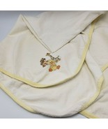Little Suzys Zoo Gerber Receiving Baby Blanket Witzy Duck Patches Giraff... - $60.00