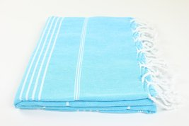 Sale Turkish Towel Made In Turkey Fouta Peshtemal Striped Beach Bath Spa Yoga Ha - $19.00