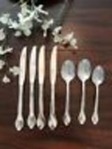 7!  Oneida TRIBECAStainless Flatware Knives & Spoons-SHINY - $19.80