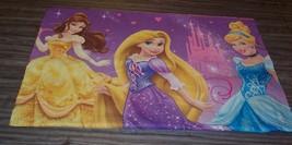 Walt Disney Princess CINDERELLA BELLE RAPUNZEL PILLOW CASE Pillowcase - $14.85