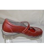 SKECHERS LEATHER RED MARYJANES WOMENS SHOES SIZE 8.5 - $32.66