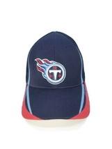 Tennessee Titans NFL Team Apparel Reebok Mens Trucker Hat Blue Stretch L/XL New - £11.98 GBP