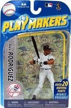 Alex Rodriguez New York Yankees Playmakers Figure NIB MLB A-Rod 2010 Yan... - $29.69