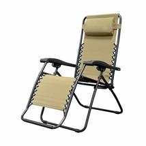 Caravan Sports Infinity Zero Gravity Chair, Beige - $76.99