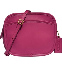 NWT Coach x Runway Buy Now Zip Leather Crossbody Bag wildflower/magenta - $399.99