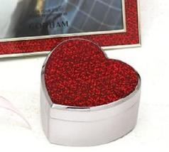 Gorham Metalware Razzle Dazzle Trinket Box Red Heart - $19.25