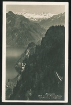 Switzerland Alps Burgenstock View from Hammetschwand auf Felsenweg RP Po... - $4.99