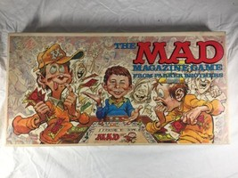 Vintage The Mad Magazine Board Game Parker Brothers 1979 Missing One Piece - $24.19