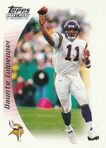 2005 Topps Draft Picks and Prospects #30 Daunte Culpepper  - $0.50