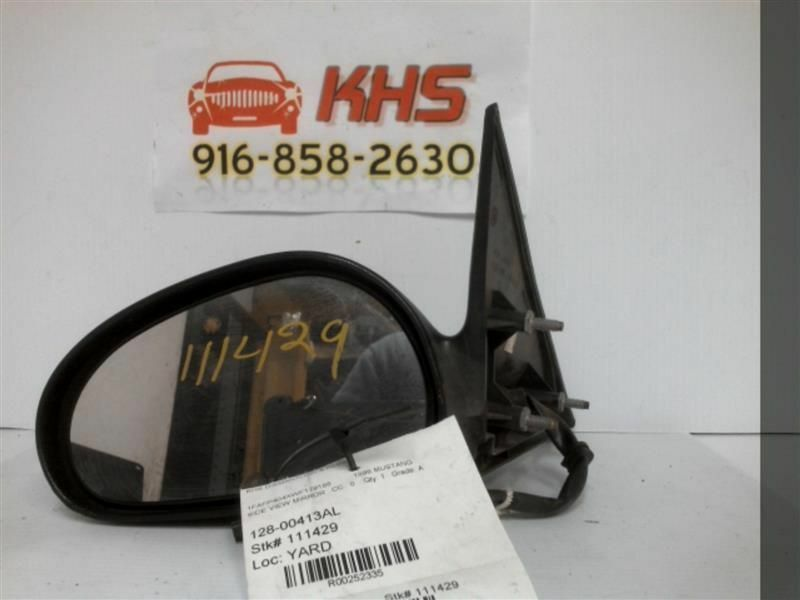 Primary image for Driver Side View Mirror Power Smooth Finish Fits 96-98 MUSTANG 252335