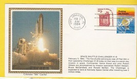 SPACE SHUTTLE CHALLENGER 41-B LAUNCH CAPE CANAVERAL FL 2/3/1984 COLORANO... - $2.98