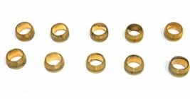 "Big A Service Line 3-16050 Automotive Brass Compression Sleeve, 5/16"" Tu... - $14.75"