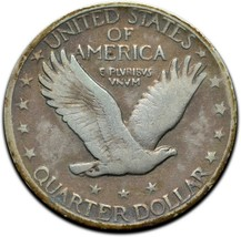 1920 Standing Liberty Silver Quarter Coin Lot A 302 image 2