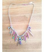 Spring Chain Mail Bib Necklace - $15.00
