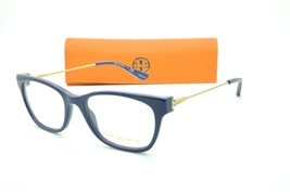 Tory Burch TY 2063 1520 Navy Eyeglasses Clear lenses + Case 51mm - $66.95