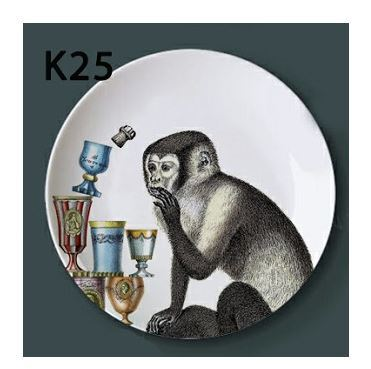 Italian Decorative Plates For Hanging.Fornasetti Decorative Plate Hanging Ceramic And 50 Similar Items