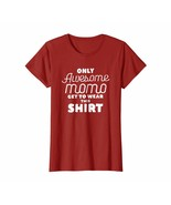 Funny Shirts - Only Awesome Momo Get To Wear This Shirt Women Tee Shirts... - $19.95+