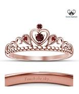 Hot Fashion 14k Rose Gold Finish Disney Princess Pocahontas Wedding Crow... - £38.01 GBP