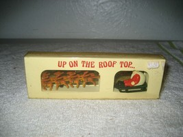 """Vintage Department 56 Christmas Village """"Up On The Roof Top"""" 5139-0 - NEW!  - $14.84"""