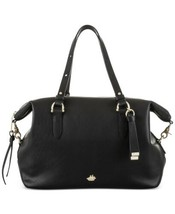 Brahmin Southcoast Charleston Collection Delaney Satchel – Black - $179.90
