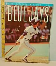 1984 Toronto Blue Jays Baseball Program Rance Mulliniks Cover - $4.94