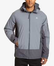 Champion Men's Big & Tall Tech Hooded Snowboard Jacket Storm Size XLT - $108.90