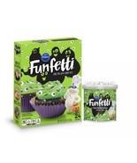 Pillsbury Funfetti Slime Cake Baking Mix and Monster Eye Frosting Halloween Fun - £5.78 GBP