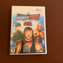 WWE SmackDown vs. Raw 2008 Featuring ECW (Nintendo Wii, 2007) Case Damaged - $4.99