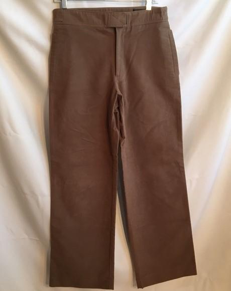 BCBG Max Azria Brown  cotton casual pants 32 (12)