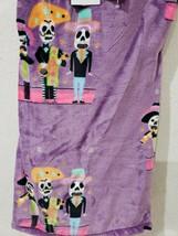 Halloween Berkshire Day of The Dead Dia De Los Muertos Throw Blanket 50 x 60 - $28.70