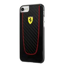 Ferrari Carbon Fiber Hard Case - Design Carbon case for iPhone 7 black F... - $44.17