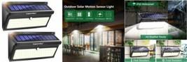 Lampe Solaire Extérieur 100 LED, Luposwiten 2000LM Lumiere Détecteur de...  - $57.25