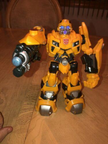 "Bumblebee Transformer 2009 Hasbro 10"" Talks and Lights Up EUC image 3"