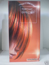 Goldwell TOPCHIC  EFFECTS Professional Max Reds Bi-fold Swatch Chart Booklet! - $10.94