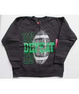 New Boys 4/5 Black Hanes Undefeated Sweatshirt - $5.00