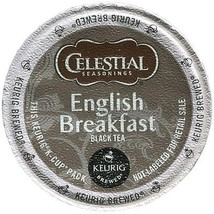 Celestial Seasonings English Breakfast Tea, 48 Kcups, FREE SHIPPING  - $38.99