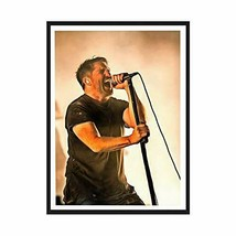 Trent Reznor Canvas Poster Fine Art Color Print - Nine Inch Nails (24x36) - $47.49