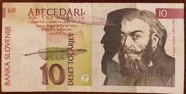 Banka Slovenije 10 Deset Tolarjev banknote 15 January 1992 - $1.00