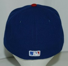 New Era CA40289 Texas Rangers Authentic On Field MLB Fitted Size 7 Blue image 2